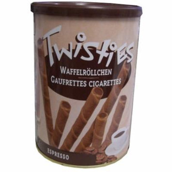 Twisties Wafer Rolls, Espresso, 400g