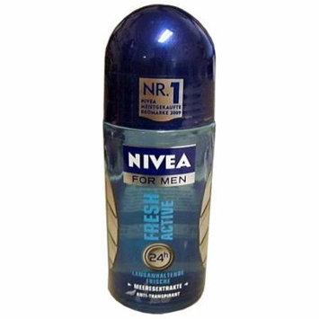 Nivea FRESH Active For Men Roll-On Deodorant, 50ml