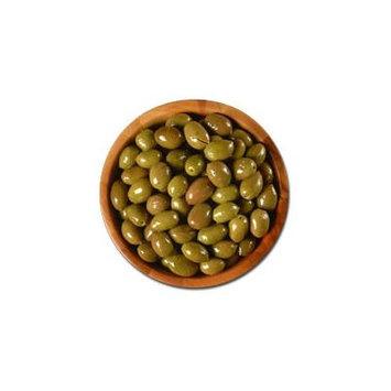 Deli Fresh Nafplion Green Olives, 16oz Dr.Wt.