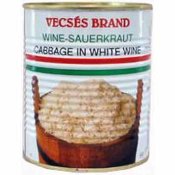 Sauerkraut - Cabbage in White Wine (Vecses) 810g
