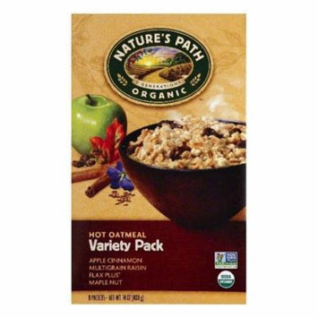 Natures Path Variety Pack Hot Oatmeal, 8 ea (Pack of 6)