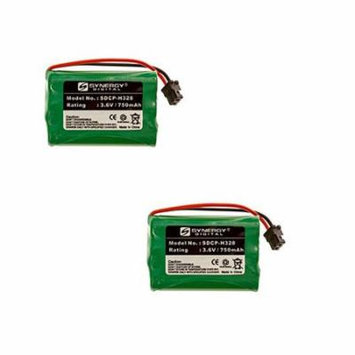Radio Shack 43-5560 Cordless Phone Battery Combo-Pack includes: 2 x SDCP-H328 Batteries