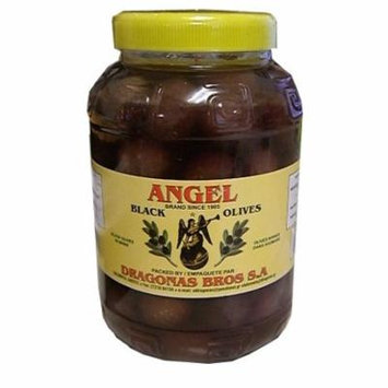 Greek Black Olives (Angel) 1 kg (2.2 lb)