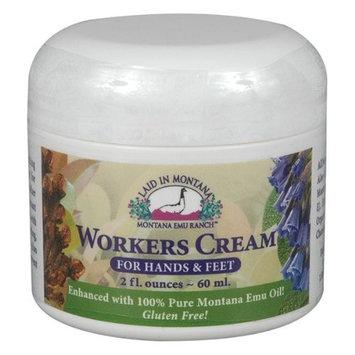 Worker's Hand Cream Montana Emu Ranch Co. 2 oz Cream