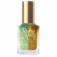 Ruby Wing Sunken Treasure Professional Mermaid Nail Polish, Blue Glitter, 0.5 Fluid Ounce (Pack of 12)