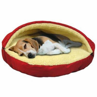 ULTRA PLUSH SHERPA LINED PET CAVE SLEEPING BAG by Pet Beds