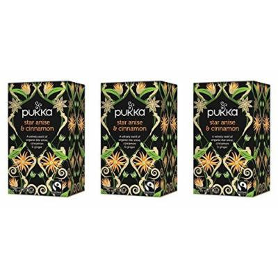 (3 PACK) - Pukka Star Anise & Cinnamon Tea| 20 Bags |3 PACK - SUPER SAVER - SAVE MONEY