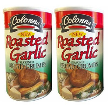 Colonna Roasted Garlic Seasoned Bread Crumbs 18oz (2pack)