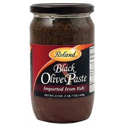 Roland Black Olive Paste From San Remo Italy 23oz