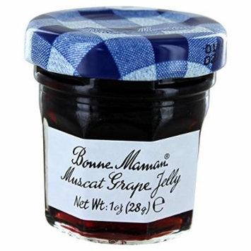 Bonne Maman Mini Jelly - Grape- 1oz - Pack Size Option Case of 60