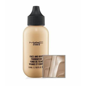 MAC Studio Face and Body Fluid Foundation - Flawless, Natural Satin-shine Finish (Face and Body Foundation - C5)