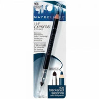 Maybelline New York Line Express Eyeliner, Blackened Sapphire 908, 0.04 Ounce