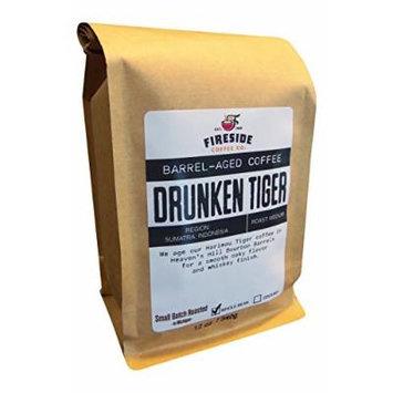 Barrel Aged Coffee Beans- Aged in Whiskey, Wine, and Beer Barrels - 12 Oz. Bag (Drunken Tiger)