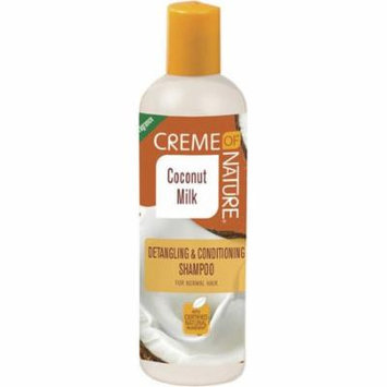 Creme of Nature Coconut Milk Detangling & Conditioning Shampoo, 12 oz