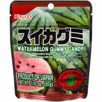 Kasugai Watermelon Gummy Candy, 1.76 oz