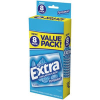 Extra Peppermint Sugar Free Gum, 14 pc, 8 count