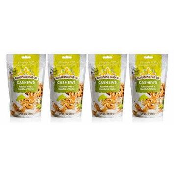 Sunshine Nut Company 'Handful of Herbs' Cashews, Peanut Free, Gluten Free, GMO Free, 7 oz, Pack of 4