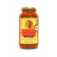 Mario Batali Arrabbiata Pasta Sauce - 24 oz (Pack of 6)