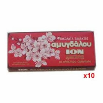 Milk Chocolate with Almonds (ION) CASE (10 x 100g)