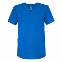 Adar Universal Unisex V-Neck Tunic 3 Pocket - 601 - Regal Blue - M