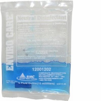 RMC Enviro Care Neutral Disinfectant - Concentrate - 0.51 fl oz - 144 / Carton - Blue 12001294