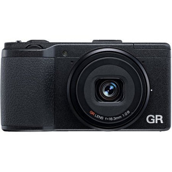 Ricoh GR 16.2MP Black Digital Camera