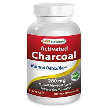 Best Naturals Activated Charcoal 280mg 120 caps