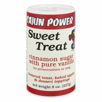 Cajun Power Sweet Treat Cinnamon Sugar With Pure Vanilla, 8.0 OZ