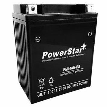 PowerStar YTX14AH-BS ATV Battery for YAMAHA YFM350B Bruin 350CC 04-'06 US STOCK