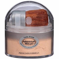 Physician's Formula Mineral Wear Talc-Free Loose Powder, Natural Beige 0.49 oz (Pack of 6)