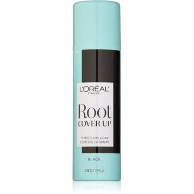 L'Oreal Paris Root Cover Up Temporary Gray Concealer Spray, Black 2 oz (Pack of 6)
