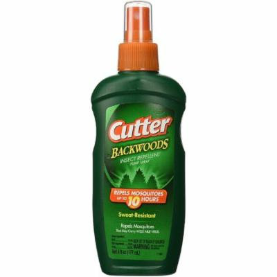 Cutter Backwoods Insect Repellent Pump Spray 6 oz (Pack of 4)