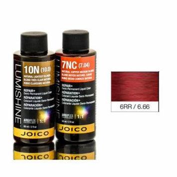 Joico Lumishine Demi Permanent Liquid Color (Color : 6RR/6.66 - 2 oz)
