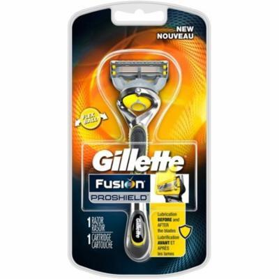 Gillette Fusion ProShield Men's Razor with Blade Refill 1 ea (Pack of 6)