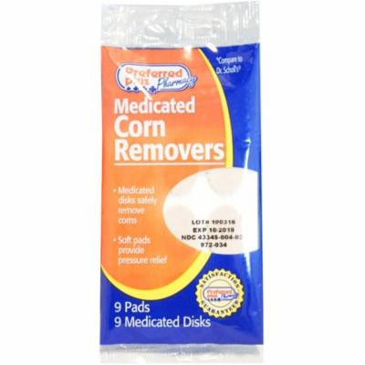 Preferred Plus Medicated Corn Removers 9 Pads ea (Pack of 3)