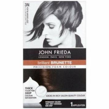 John Frieda Precision Foam Colour - Brunette Deep Brown-Black (3N) 1 Each (Pack of 3)