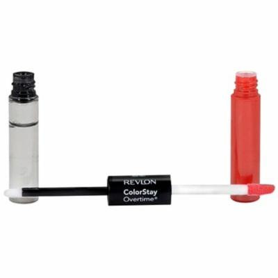 Revlon ColorStay Overtime Liquid Lip Color, Constantly Coral [020] 0.07 oz (Pack of 6)
