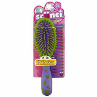 Scunci Girl Brush & Comb Set, Assorted Colors 1 ea (Pack of 2)