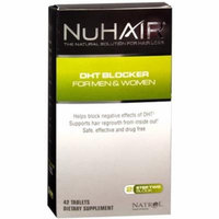 NuHair DHT Blocker Hair Regrowth Tablets 42 Tablets (Pack of 6)
