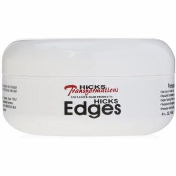 Hicks Edges Pomade 4 oz (Pack of 2)