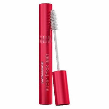 CoverGirl Professional Super Thick Lash Waterproof Mascara, Very Black [225] 0.30 oz (Pack of 6)