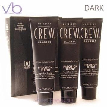American Crew Precision Blend Color Dark 3x40ml