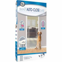 AUTO CLOSING METAL GATE EXTRA TALL