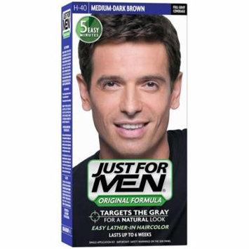 JUST FOR MEN Hair Color H-40 Medium Dark-Brown 1 ea (Pack of 4)