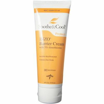 Medline Soothe & Cool INZO Barrier Cream 4 oz (Pack of 3)