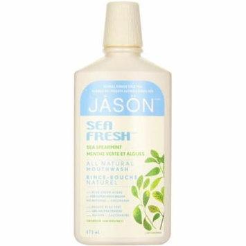 Jason Sea Fresh Active Mouthwash, Sea Spearmint 16 oz (Pack of 4)