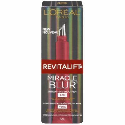 L'Oreal Paris Revitalift Miracle Blur Instant Eye Smoother 0.5 oz (Pack of 4)