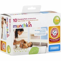 Munchkin Arm & Hammer Disposable Changing Pad with Baking Soda 10 ea (Pack of 2)