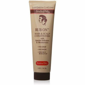 Sta-Sof-Fro Rub On Hair & Scalp Conditioner Extra Dry 5 oz (Pack of 2)