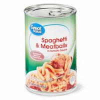 Great Value Spaghetti & Meatballs, 15 oz